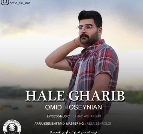 Omid Hoseynian Hale Gharib 500x470 - دانلود آهنگ جدید امید حسینیان به نام حال غریب